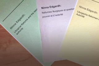Other texts and publications of Ninna Edgardh