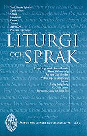 Liturgi och språk.